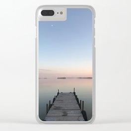 Perfection - Cree Lake, Saskatchewan Clear iPhone Case