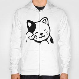 Kawaii Kitten Cat Emoticon Hoody