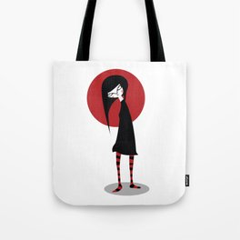 Mia on White Tote Bag
