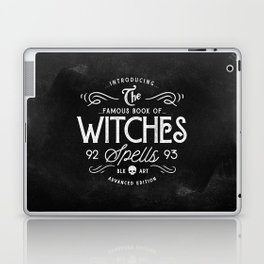 The Witches guide to spells Laptop & iPad Skin