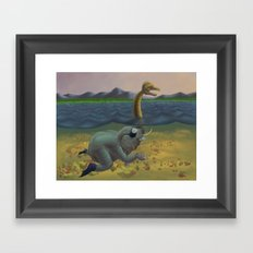 The truth of Loch Ness Framed Art Print