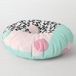 Tennis Pattern Floor Pillow