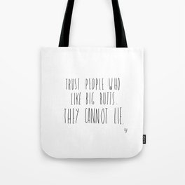 Big Butts Tote Bag