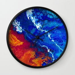 Shark Bay Wall Clock
