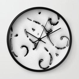 A Frigid Gale Wall Clock