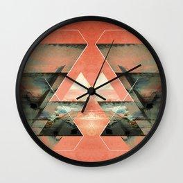 Abstract composition III Wall Clock