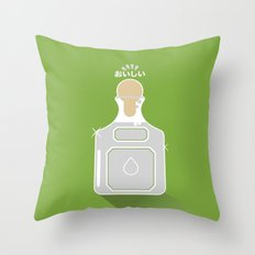In My Fridge - Tequila Throw Pillow
