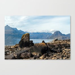 Scottish landscape of Isle of Skye Canvas Print