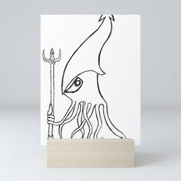 SQUID Mini Art Print
