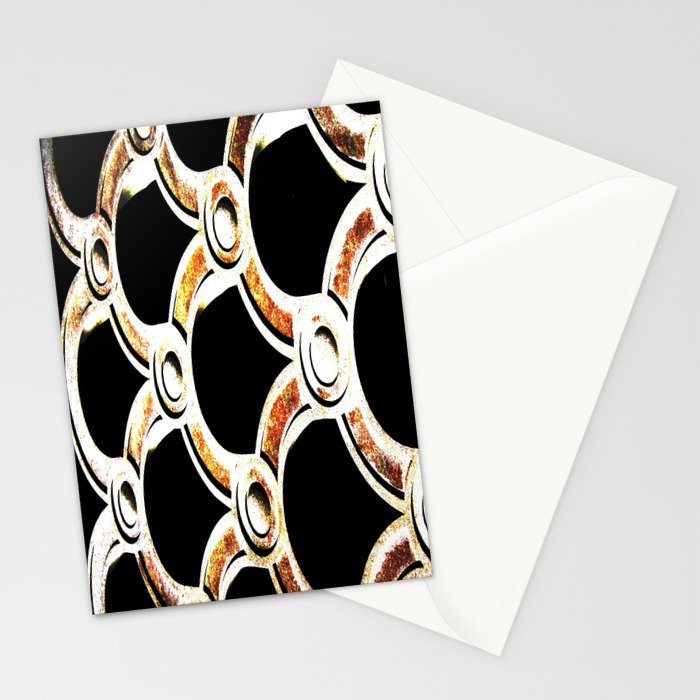 copper rusted cement Stationery Cards