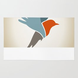 Bird a hand Rug
