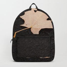 Maple Leaves Photography Print Backpack