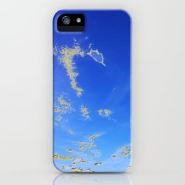 Fly, in the sky, like a butterfly ... iPhone Case
