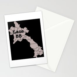 Laos 88 Stationery Cards