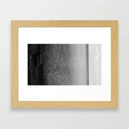 Cinderblock Framed Art Print