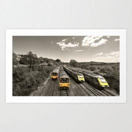 Aller Panoramic Art Print