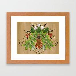 Oak, Ash, and Thorne Framed Art Print