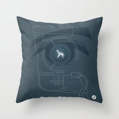 BLADE RUNNER (Voight Kampf Test Version) Throw Pillow