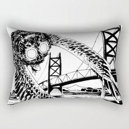 Mothman loves bridges Rectangular Pillow