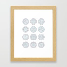 Patterns 1 Framed Art Print