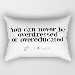 Irish Poet Rectangular Pillow