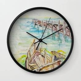 The Old Port Wall Clock