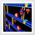 Inside Donkey Kong stage 4 by sevensheaven