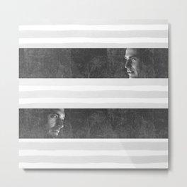 Steve & Bucky Metal Print