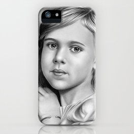 Child Portrait 01 iPhone Case