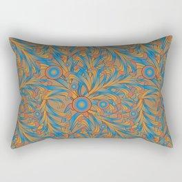 psychedelic Art Nouveau  Rectangular Pillow