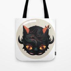 Devil cat Tote Bag