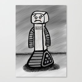 RU5-T the Robot Canvas Print