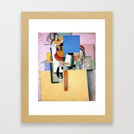 Kazimir Malevich - Reservist of the First Division (new editing) Framed Art Print