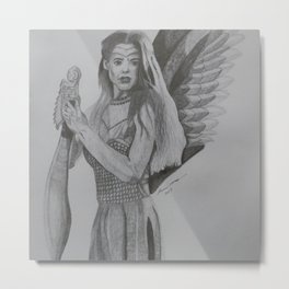 Angel Warrior Metal Print