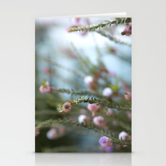 softly open our mouths Stationery Cards