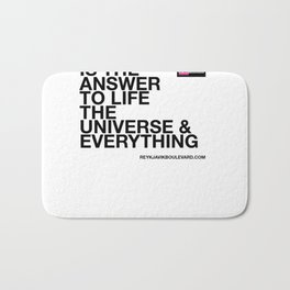 42 is the answer Bath Mat