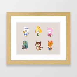 Animal Crossing: New Leaf Framed Art Print