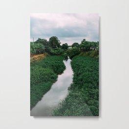 Banana River Metal Print