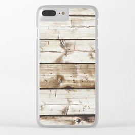 Out of the City Clear iPhone Case