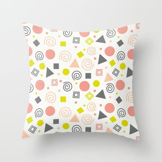 Lovely Party Throw Pillow