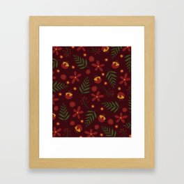 Holiday Cheers Framed Art Print