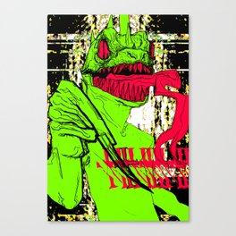 MY OWN GOD DAMN PERSON Canvas Print