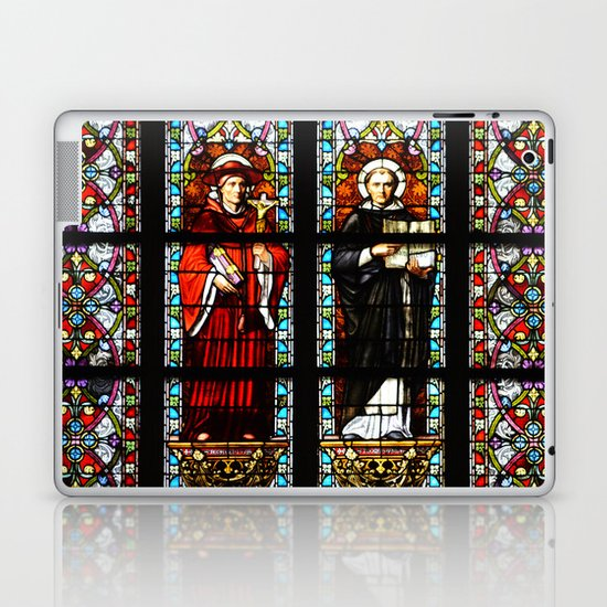 Stained glass Laptop & iPad Skin