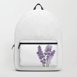 Watercolor Lavender Backpack