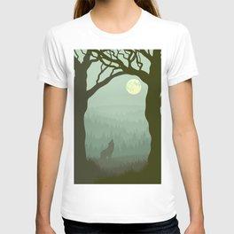 wolf forest T-shirt