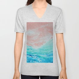 near the coast Unisex V-Neck