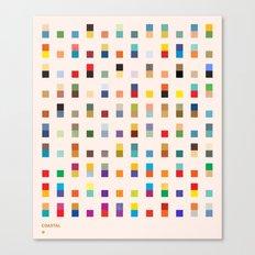 COASTAL 2 — Matthew Korbel-Bowers Canvas Print