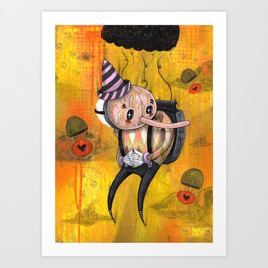 No Strings Attached Print~! Art Print