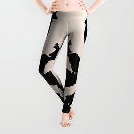 Rorschach inkblot Leggings