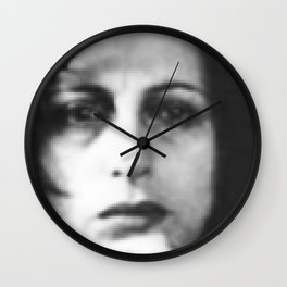 Anna Magnani Wall Clock